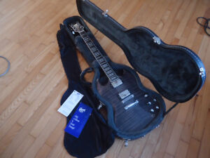 2004 Gibson SG Supreme in Translucent Black