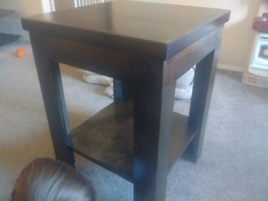 Birch end tables