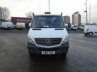 Mercedes-Benz Sprinter 3.5T Dropside DIESEL MANUAL WHITE (2016)