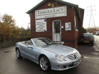 2007 Mercedes-Benz SL500 5.5 7G-Tronic Only 43,000 Miles & FMBSH