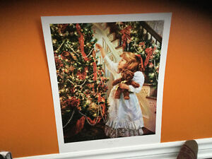 The Night Before Christmas print unframed