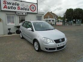 57 VOLKSWAGEN POLO 1.2 S 63 BHP - 62119 MILES - IDEAL FIRST CAR