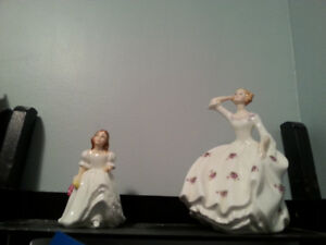 """"""" Just In Time For Valentine's ! """" 2 - Royal Doulton Figurines"""