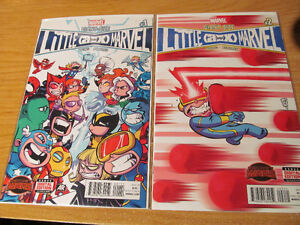 Giant Size Little (AvsX) Marvel Issues #1-4 Skottie Young Covers