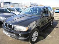 2003 BMW X5 SUV 3.0i 231 Auto5 Petrol black Automatic