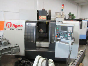 Agma VMC-115 CNC Vertical Machining Center