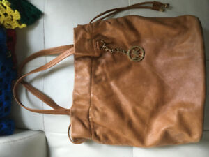 Michael Kors leather hobo bag (EUC)