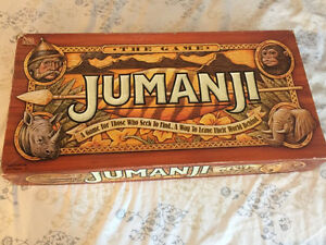 Jumanji Vintage Board Game
