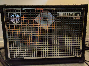 Goliath Jr. IV 8 Ohm 2x10 Bass Cab