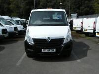 2015/15 VAUXHALL MOVANO R3500 HD 6 SEATER D/CAB ALUMINIUM DROPSIDE TIPPER DIESEL