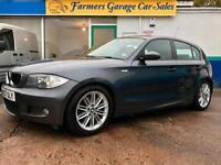 BMW 116 1.6 2007 i M Sport 59,559 Miles In Grey