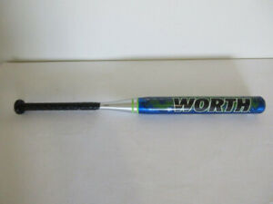 Worth Softball Bats -- Adult & Youth -- Like New