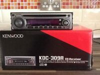 Kenwood car radio & CD player