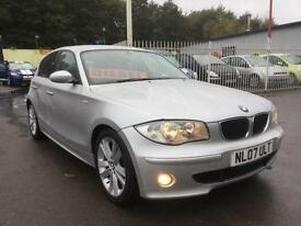 BMW 120 2.0TD 2007MY d Sport hi spec m sport 5 door