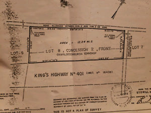 12 acres of land for sale in Lancaster Ontario