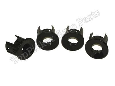 Rear Bumper Sensor Retainer Housing Inner Outer 4pcs For Silverado 2008-2013