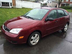 2006 Ford Focus ZX5 SES...132kms-man-equippee