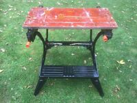 Black and decker workmate 2. Work bench. Can deliver