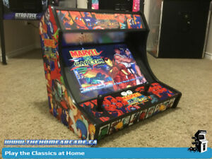 New The Home Arcade Bartop Cabinet with 12,136 games plus Wty
