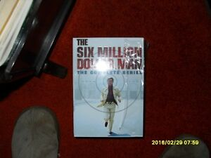 The Six Million Dollar Man: The Complete Series DVD