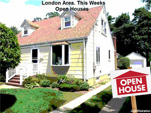 This weeks OPEN HOUSE. Starting at $129K! London Ontario image 1