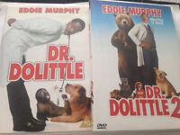 Dr Doolittle DVDS
