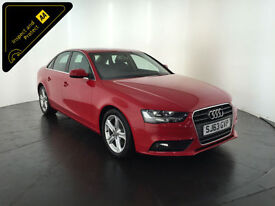 2013 63 AUDI A4 TECHNIK TDI 4 DOOR SALOON 1 OWNER SERVICE HISTORY FINANCE PX