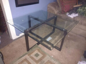 Matching coffee and endtable set