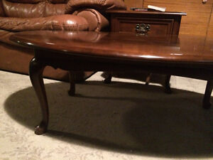 Gibbard Solid Cherry Oval Coffee Table