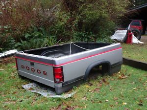 Dakota truck box c/w tailgate