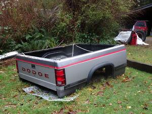 Dakota truck box c/w tailgate