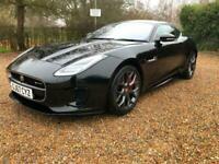 2017 (67) Jaguar F-TYPE 2.0 i4 (300ps) Auto R-Dynamic 2 Door Black 29000 Miles