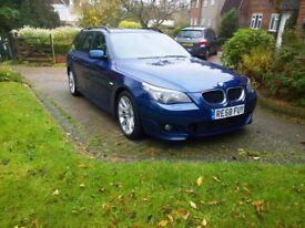 BMW 520D M-SPORT ESTATE AUTO DIESEL (2008)