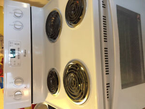 Brand new self cleaning stove