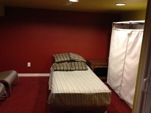 one basement room for rent
