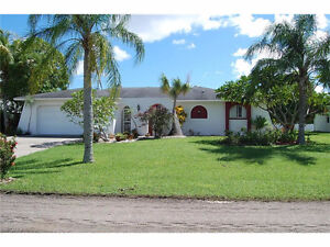 **GREAT POOL HOME ON OVERSIZED LOT** - LOCATED IN CAPE CORAL, FL