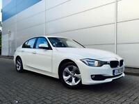 2012 12 Reg BMW 320d Efficient Dynamics WHITE + SALOON + NICE SPEC