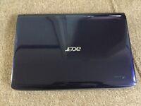 Acer aspire 5930 250GB 3GB Windows 7 laptop