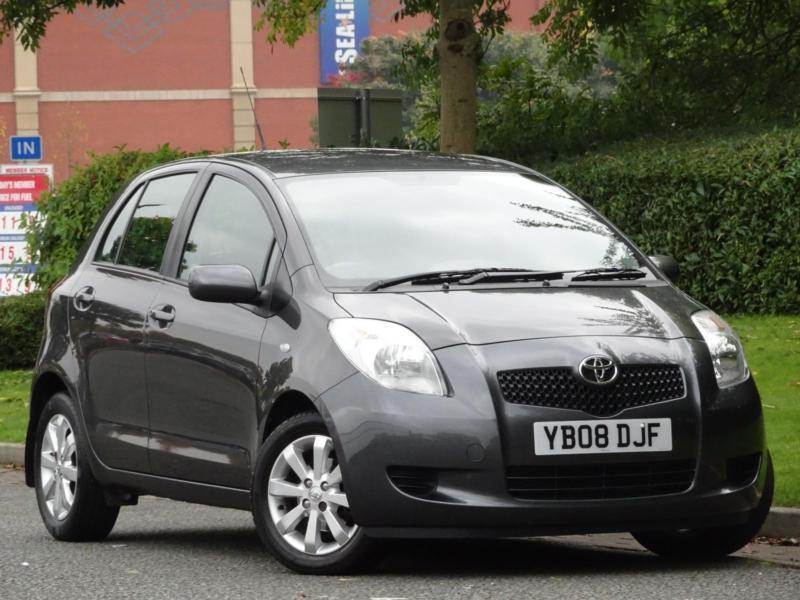 Toyota Yaris 1.3 VVT-i TR 2008 5 Door +1 LADY OWNER + 9 TOYOTA SERVICE STAMPS