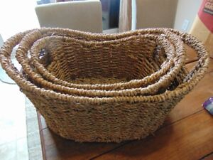 3 baskets fit inside of each other