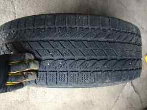 Winter Tires on rims (off a Honda Odyssey) Stratford Kitchener Area image 2
