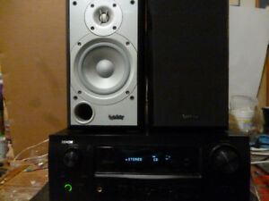 Denon AVR 1910 + Infinity P152 Speakers