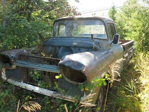 1958 CHEV APACHE.....selling as a parts truck