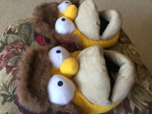 Homer Simpson Slippers - size S7/8.