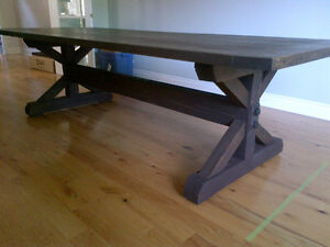 CUSTOM HAND CRAFTED FARMHOUSE HARVEST TABLES Peterborough Peterborough Area image 1