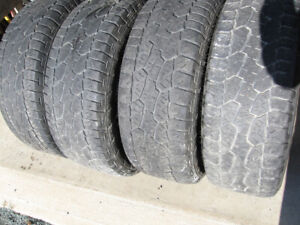 SET OF 4 HANKOOK DYNA PRO 275/55R20 $80 FOR ALL 4