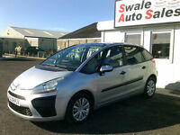 2008 CITROEN C4 PICASSON SX 1.6HDi ONLY 70,670 MILES, FULL SERVICE HISTORY