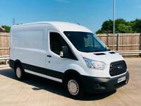 2015/64 FORD TRANSIT TREND 350 MWB L2H2-FROZEN WHITE-2.2 TDCI 125 PS 6 SPEED FWD