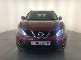 2014 NISSAN QASHQAI TEKNA DCI 4X4 DIESEL SERVICE HISTORY FINANCE PX WELCOME