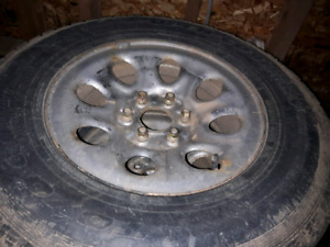 265 70 17 winter tires with steel rims